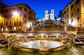 istock Spanish Steps, Rome - Italy 517376581