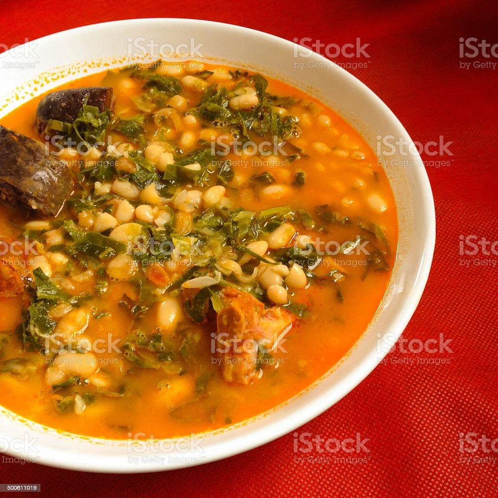 Spanish stew stock photo