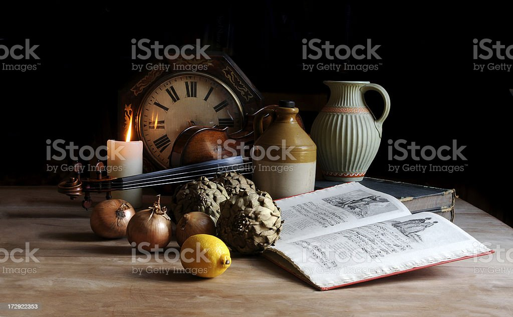 Spanish Still life stock photo