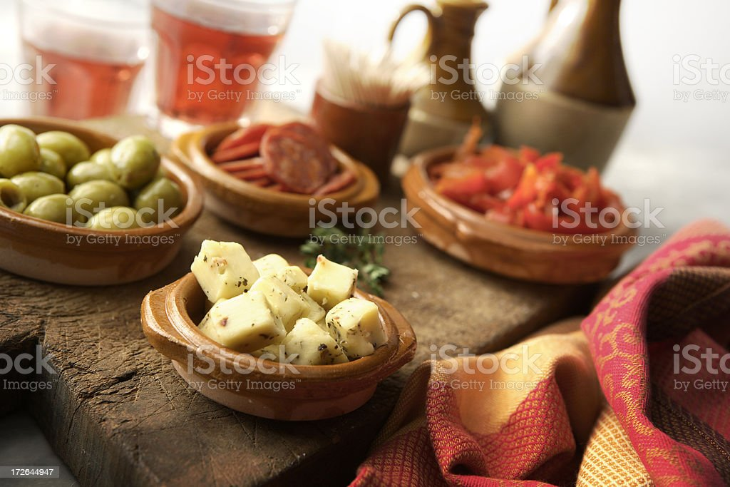 Spanish Stills: Tapas - royalty-free stock photo