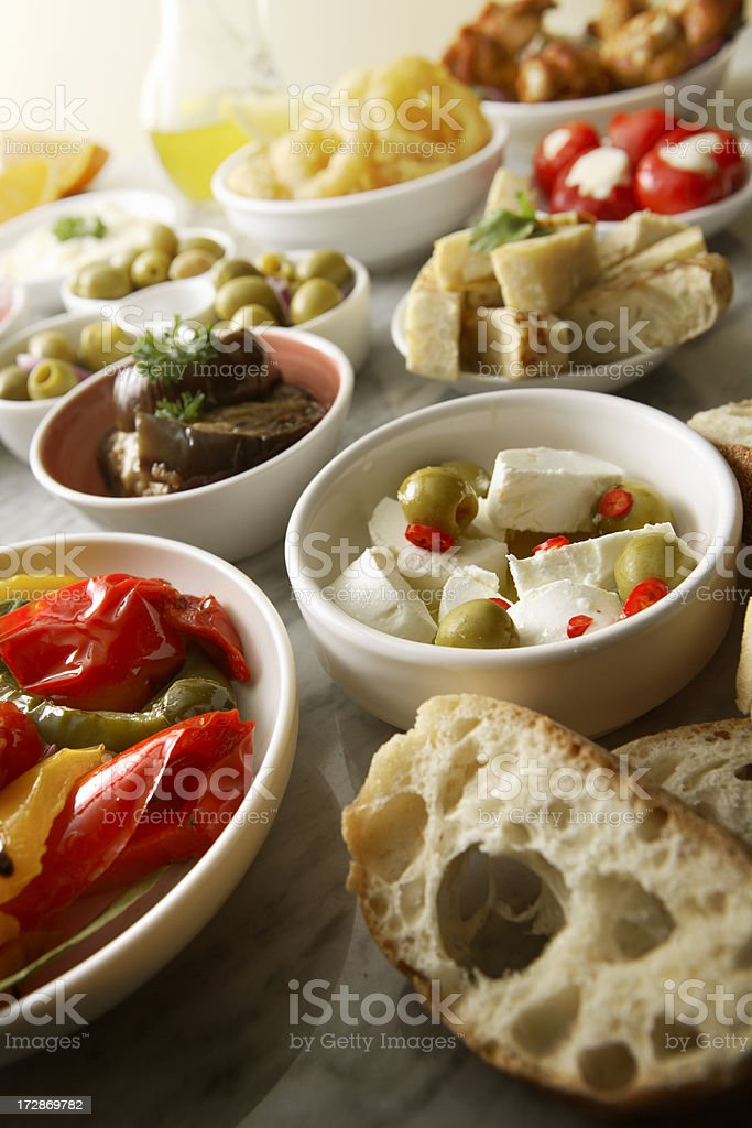 Spanish Stills: Tapas - royalty-free stock photo
