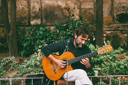 istock Spanish Street Musician 859259154