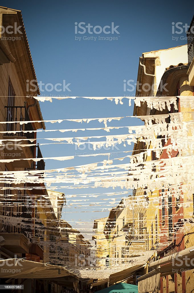 Spanish Street royalty-free stock photo
