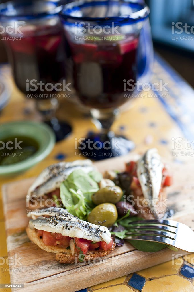 Spanish Tapas royalty-free stock photo