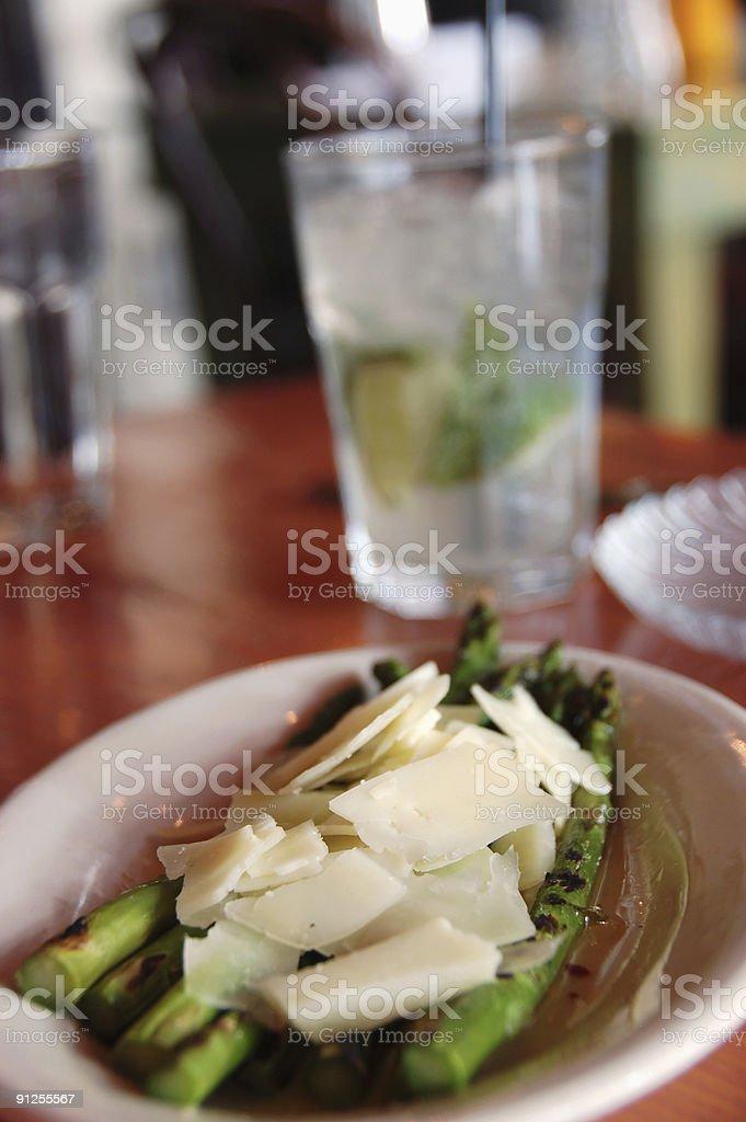 spanish tapas with mojito royalty-free stock photo