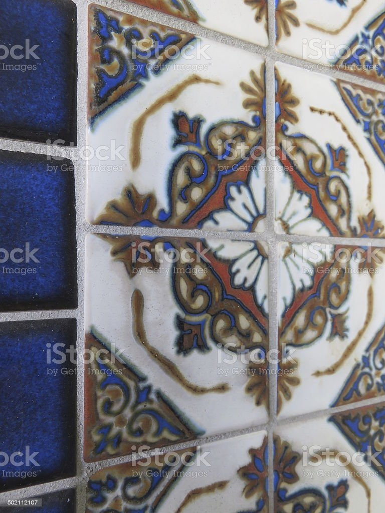 Spanish Tile royalty-free stock photo