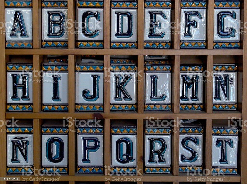 Photo Libre De Droit De Carrelage Espagnol Lettres De Seville En Espagne Banque D Images Et Plus D Images Libres De Droit De Carrelage Istock