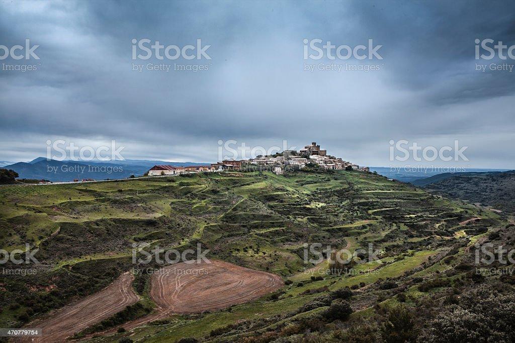 Spanish Village stock photo