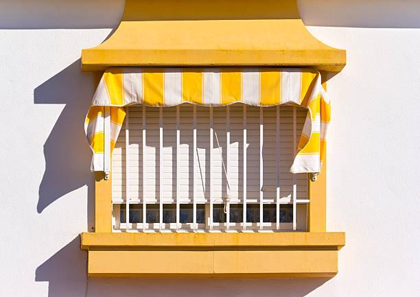 Spagnolo finestra - foto stock