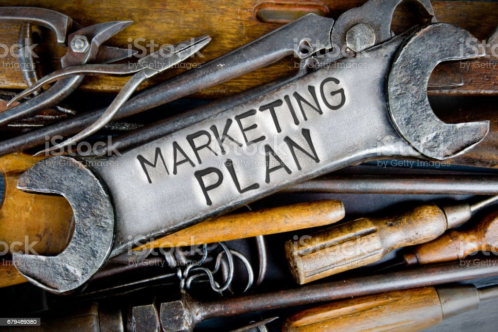 Spanner and Tools Concept royalty-free stock photo