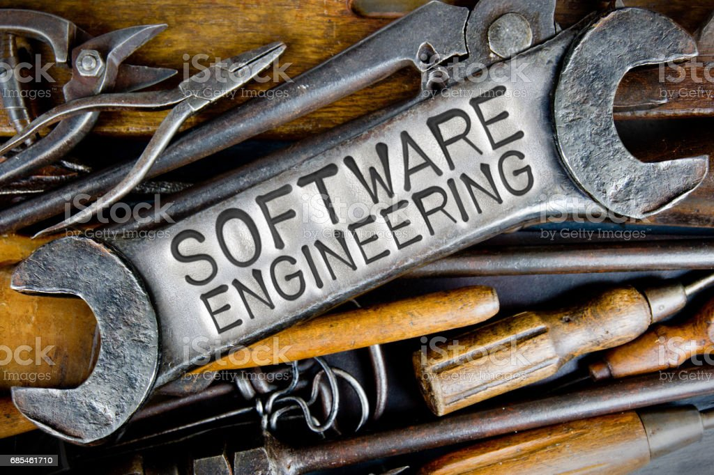 Spanner and Tools Concept foto de stock royalty-free
