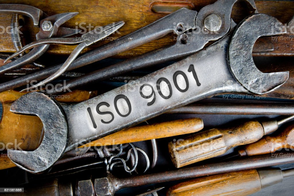 Spanner and Tools Concept stock photo
