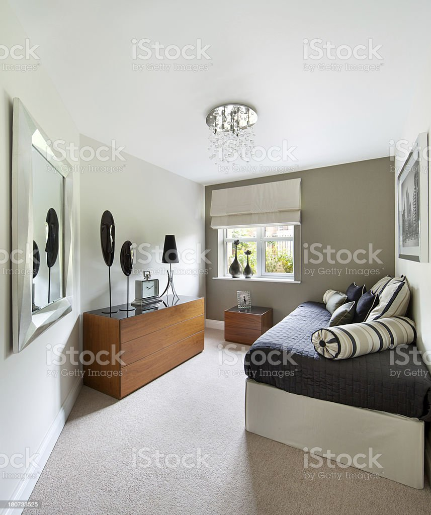 spare bedroom royalty-free stock photo
