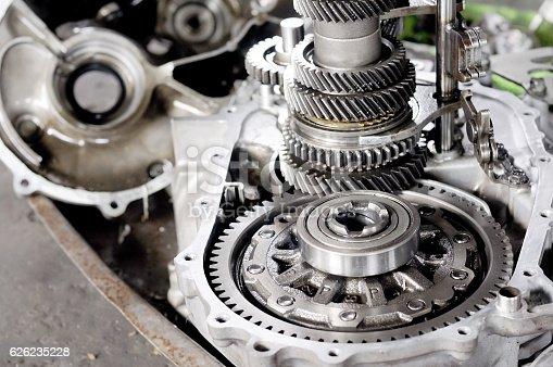 Spare part of transmission car system