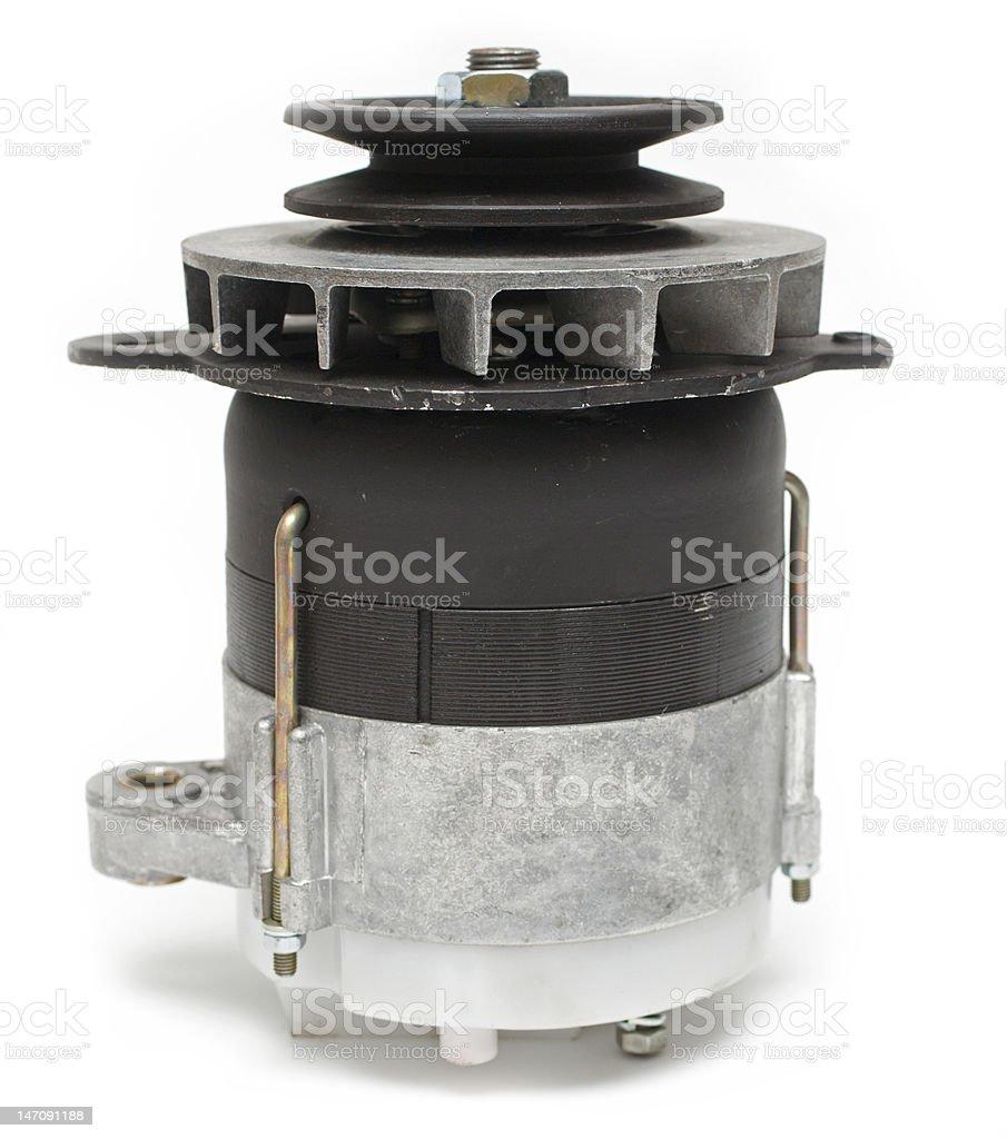spare parts- car generator stock photo