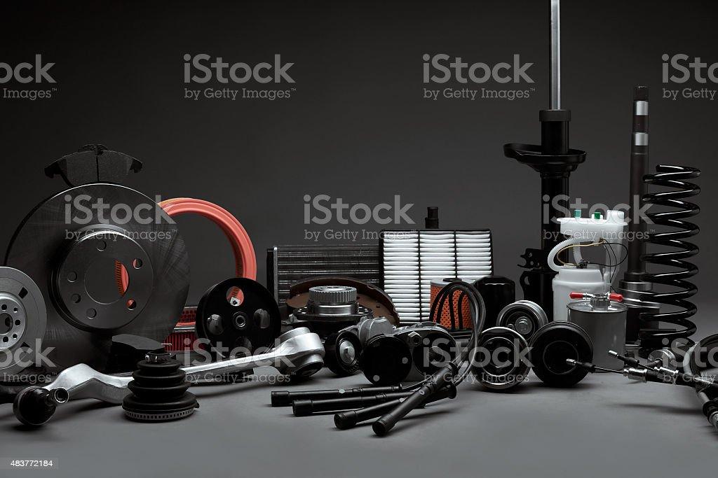 An Fahrzeugersatzteile – Foto