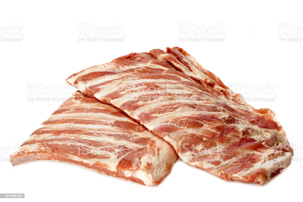 Spare ribs royalty-free stock photo