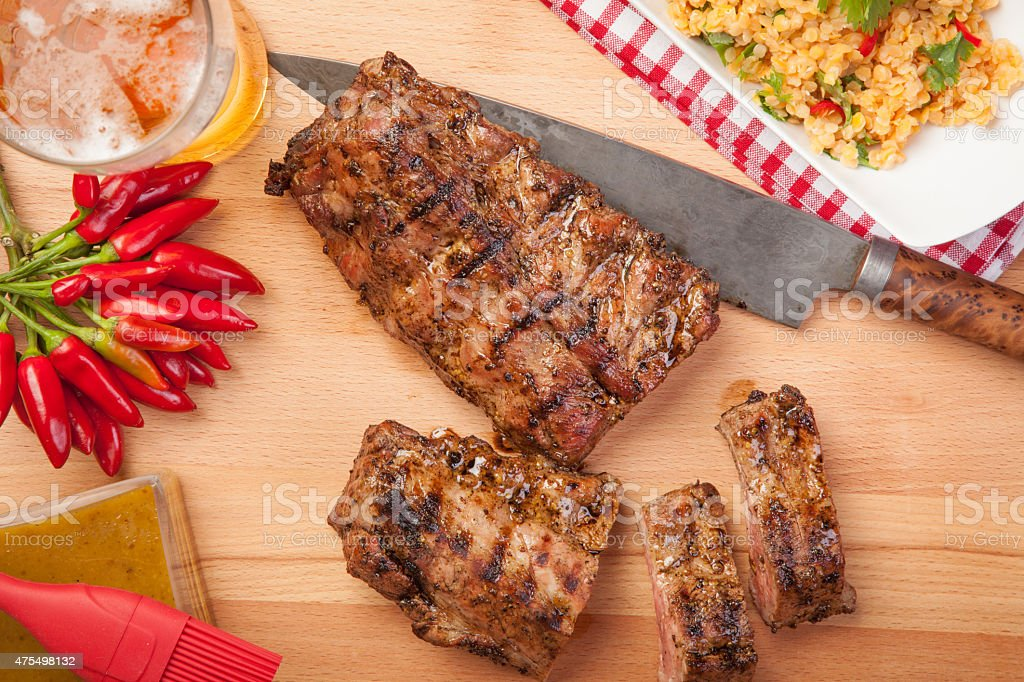 Spare Ribs stock photo