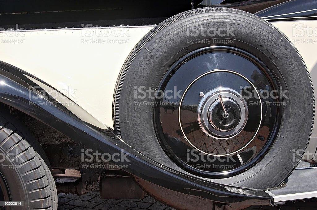 Spare Tire royalty-free stock photo