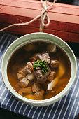 Pork soup, Chinese ribs soup