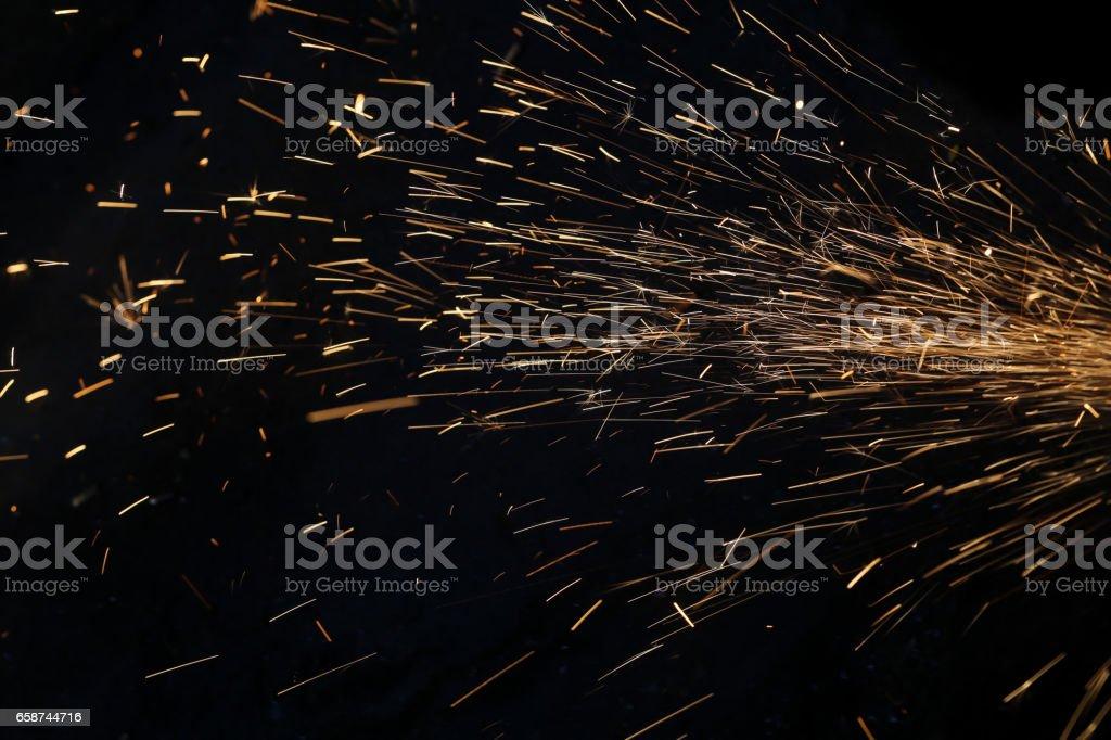 bougie light paiting pendant la coupe - Photo