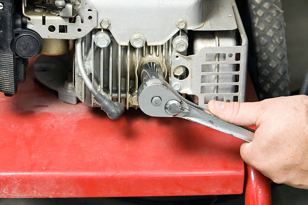Spark Plug Removal from a Small Gasoline Engine