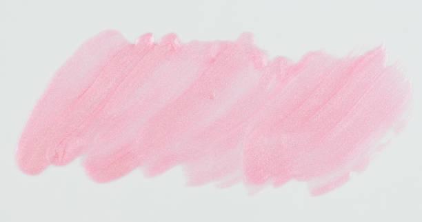 Funkeln Hell rosa Farbe Fleck isoliert – Foto