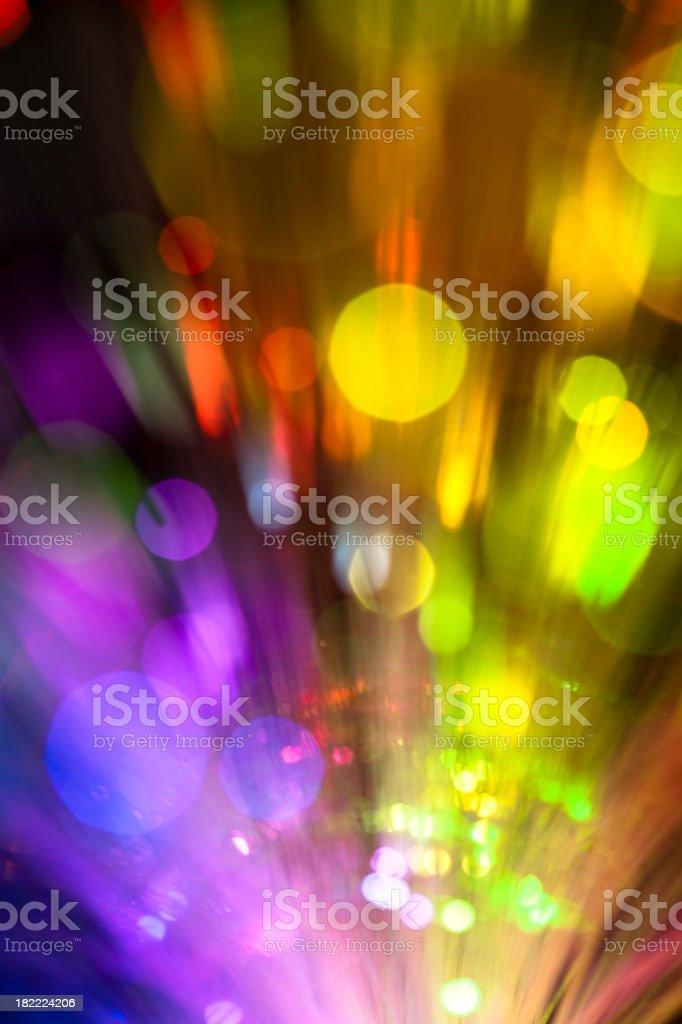 Sparkle of defocused lights royalty-free stock photo