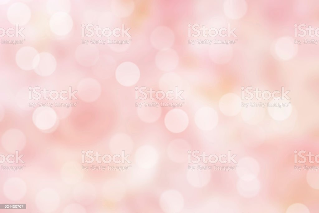 sparkle pink bpkeh background stock photo