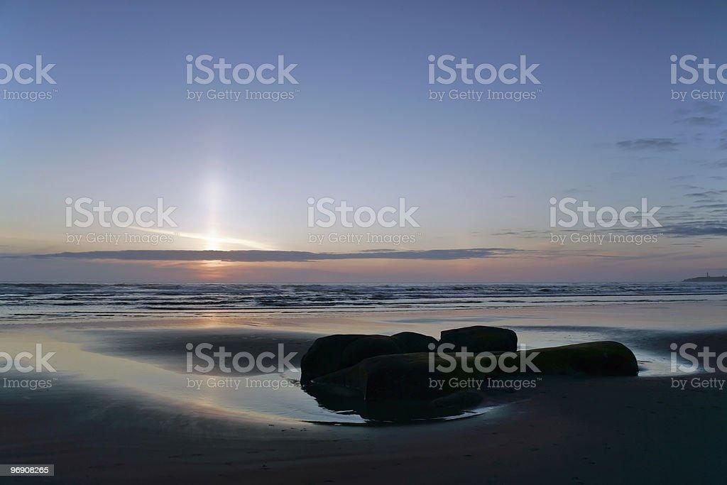 Sparkle Sunset royalty-free stock photo