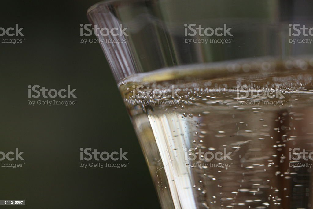 sparkle wine stock photo