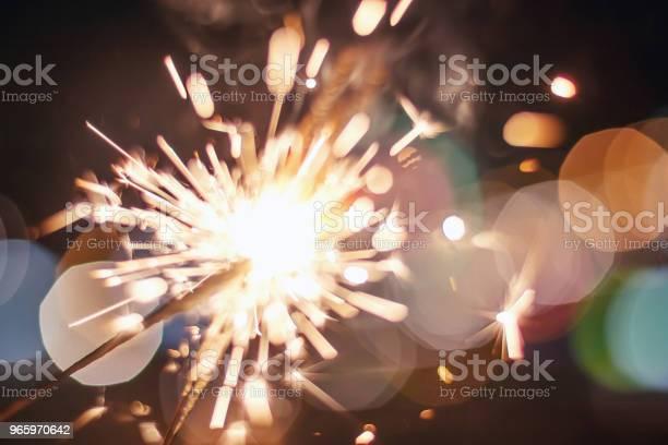 Tomtebloss Bokeh Färgglada Tomtebloss Natt Bakgrund Med Ett Tomtebloss-foton och fler bilder på Aktivitet