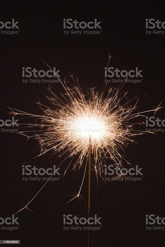 sparkler firework royalty-free stock photo