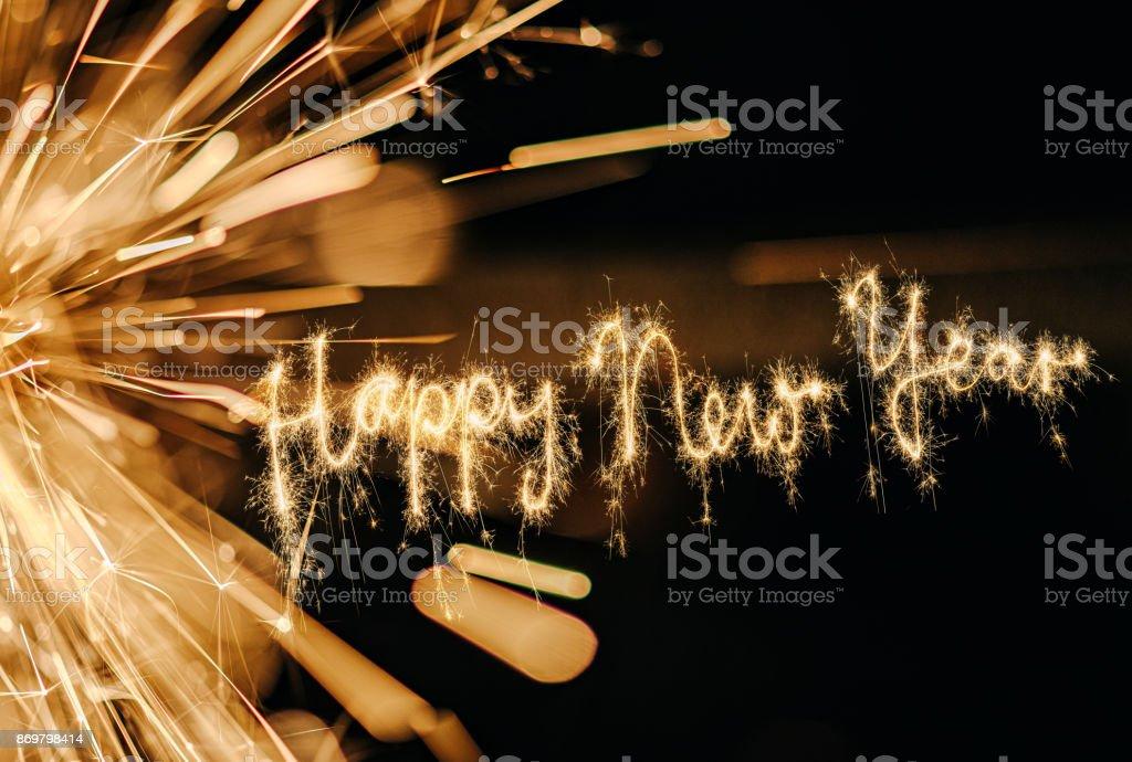 Estrelinha feliz Ano Novo - foto de acervo