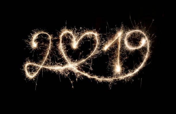 Wunderkerze Neujahr 2019 mit Herz – Foto