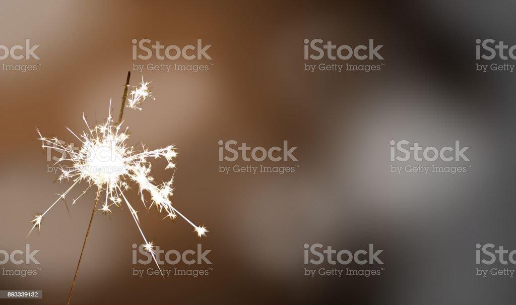 sparkler - New Year / New Year's Eve / celebration stock photo
