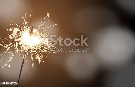 istock sparkler - New Year's Eve 499844700
