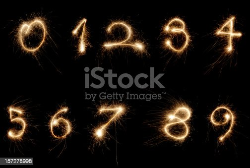 istock sparkler numbers 157278998
