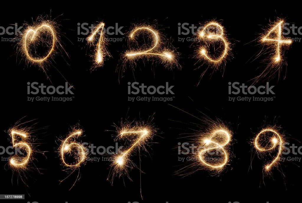 Números de bengala - foto de stock