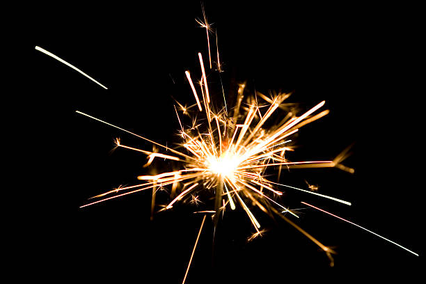 sparkler - yt stock pictures, royalty-free photos & images