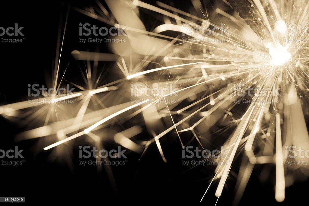 Sparkler royalty-free stock photo