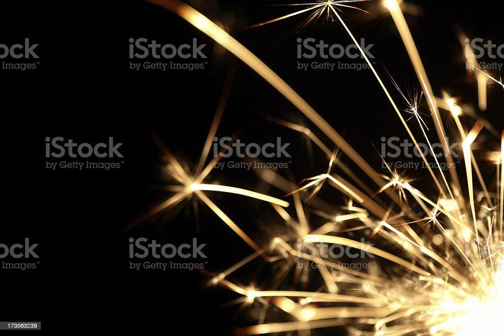 Sparkler series royalty-free stock photo