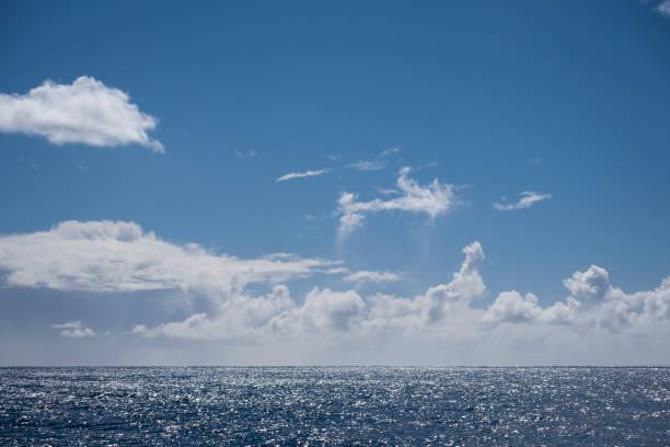 Sparkling Blue Ocean stock photo