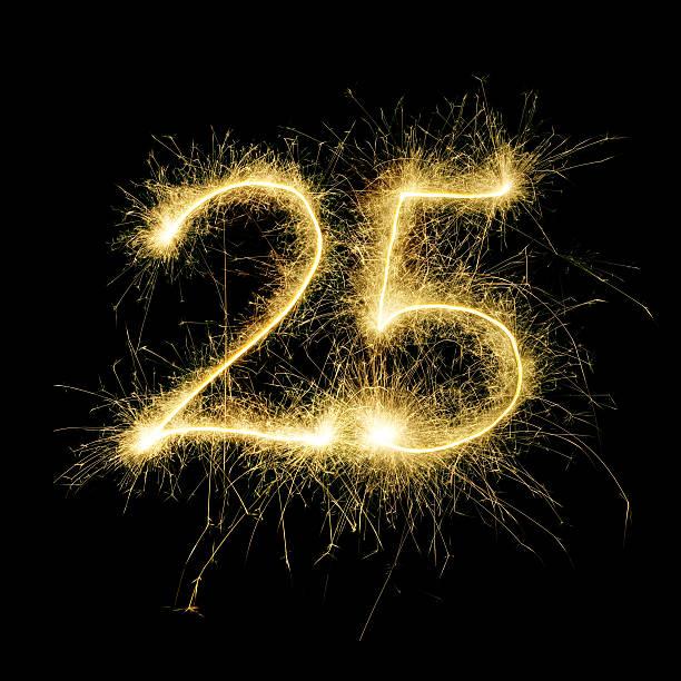 Картинки с числом 25, днем рождения раяна