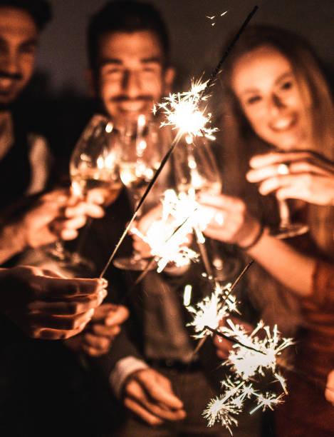 funkeln für das neue Jahr – Foto