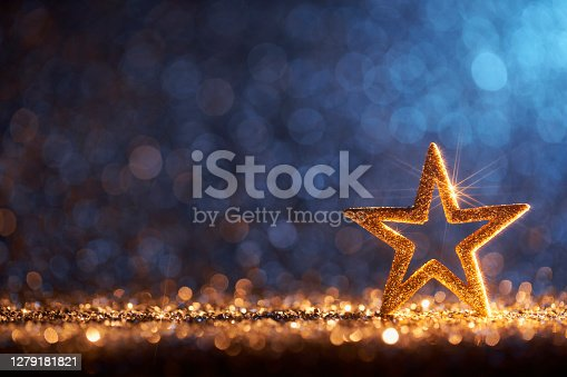 Decorative Christmas still life photography.