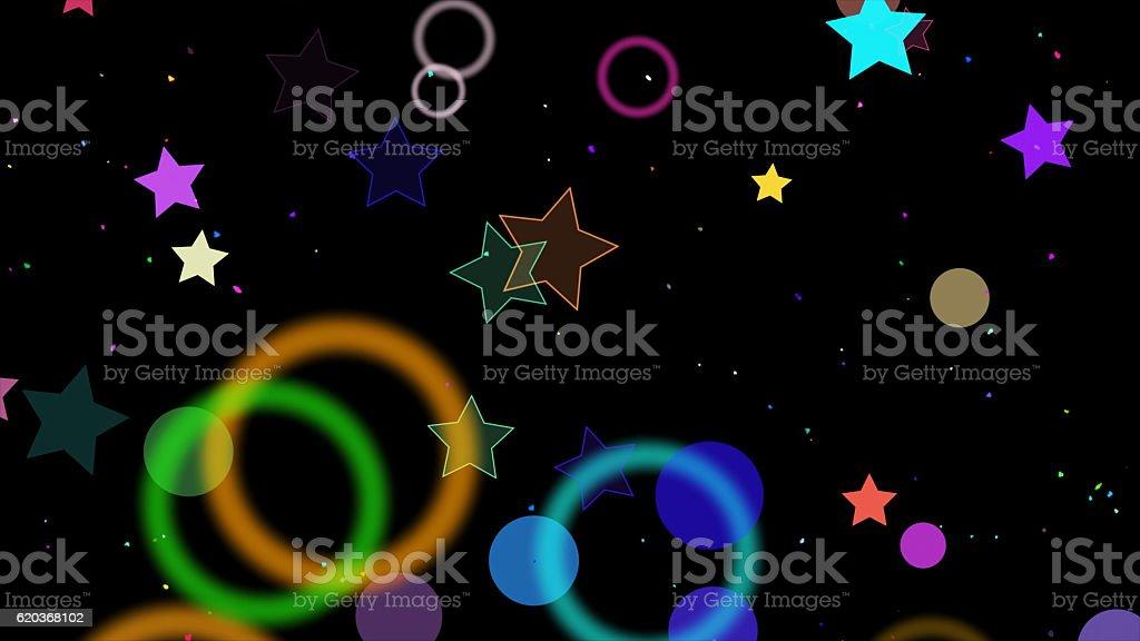 sparkling graphic particles foto de stock royalty-free