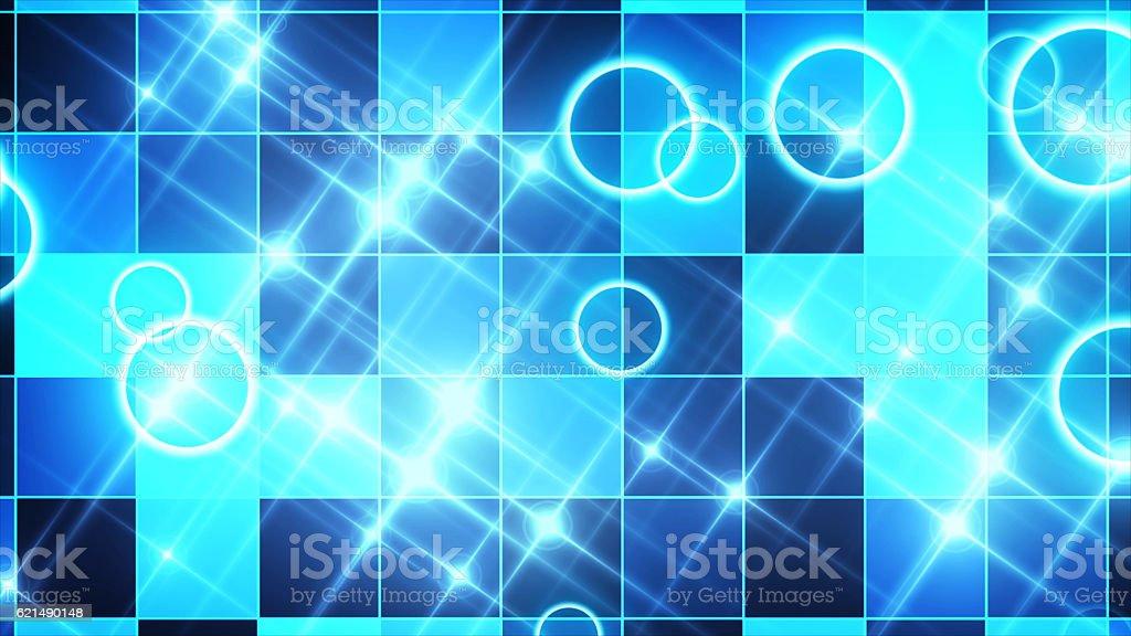 sparkling graphic particles photo libre de droits