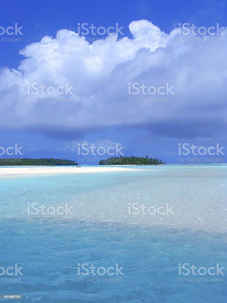 Sparkling Lagoon royalty-free stock photo