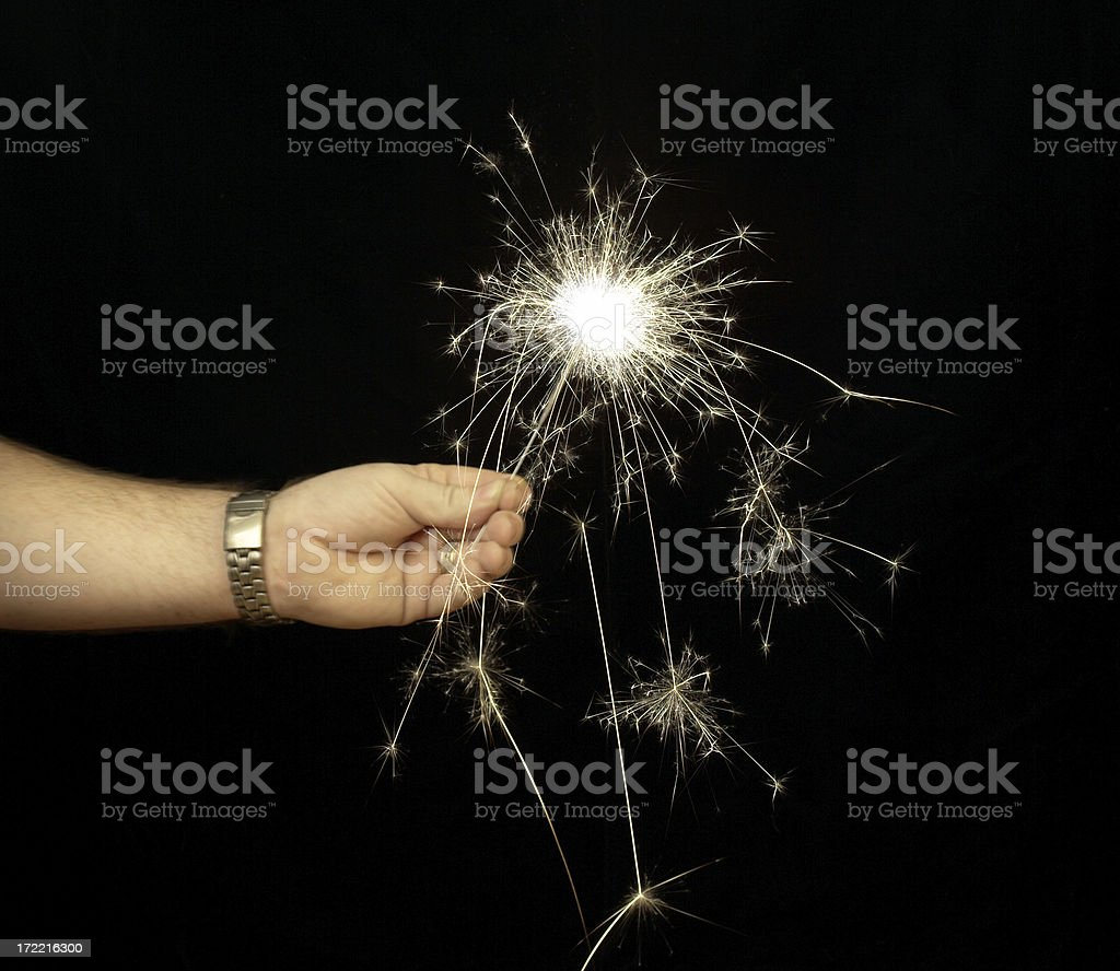 Sparkling royalty-free stock photo